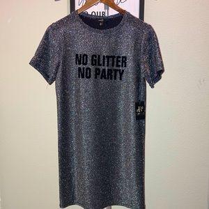 Glitter T-Shirt Dress ✨